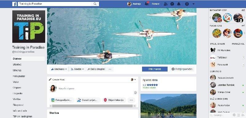 individualna delavnica za Facebook in Instagram