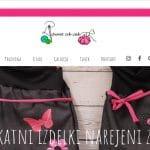 spletna stran www.sweetcikcak.si