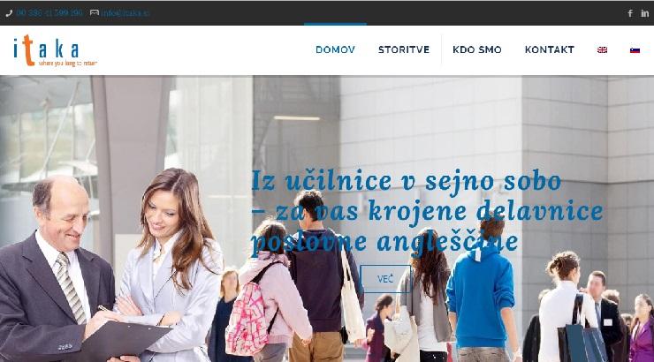 Dvojezična spletna stran